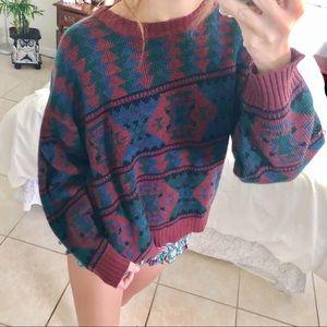 Sweaters - West coast Travelers vintage boho baggy sweater